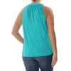 INC International Concepts I.N.C. Surplice Blouson Tank Top