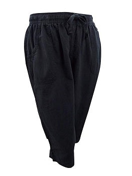 Karen Scott Plus Size Cotton Capri Pants