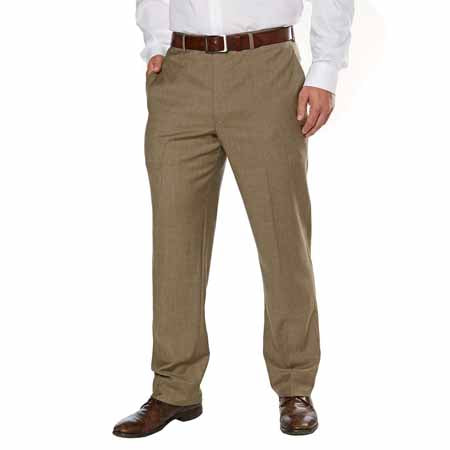 Kirkland Signature Wool Flat Front Dress Pant