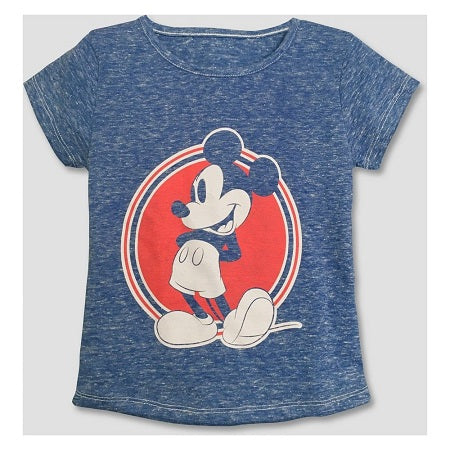 Disney Junior Toddler Girls' Mickey Mouse Short Sleeve T-Shirt