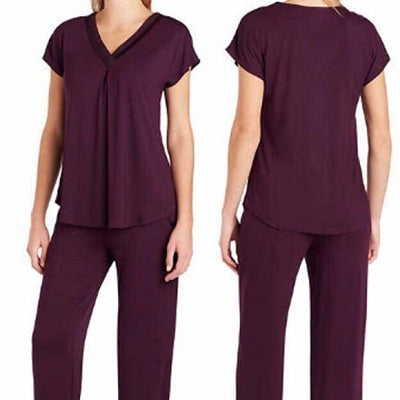 Carole Hochman Women's Soft Pajama 2-Piece Set