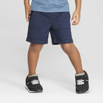 Cat & jack Toddler Boys' Twill Pull-On Shorts