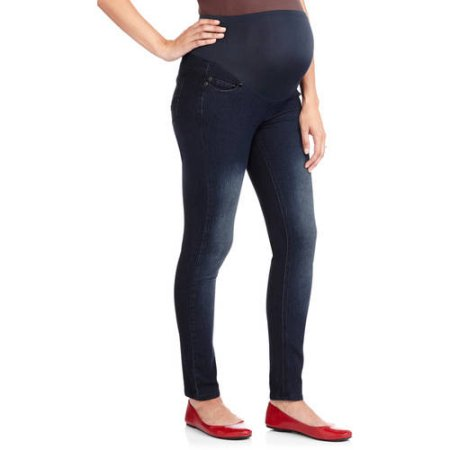 Oh! Mamma Maternity Full-Panel Super Soft Skinny Jeans