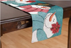 Tapestry Table Runner Happy Snow Friends