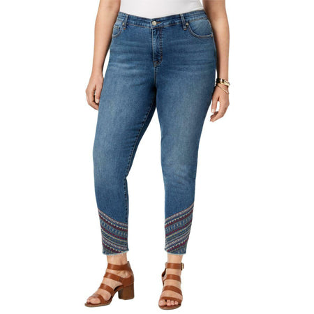Style & Co. Women's Curvy High Rise Ankle Jeans