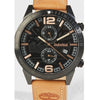 Timberland Sagamore Leather Watch