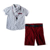 Sisero Boy's Short Sleeve Skirt & Short