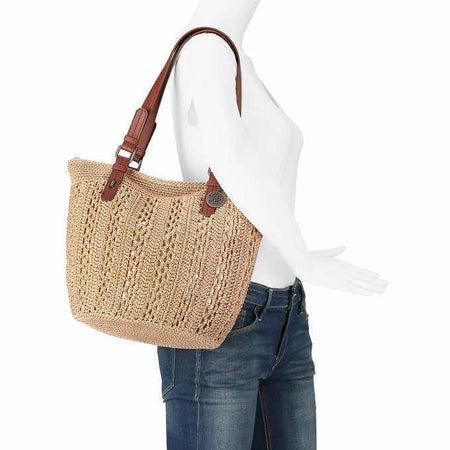 TheSak Alphine Hand Crocheted Shopper