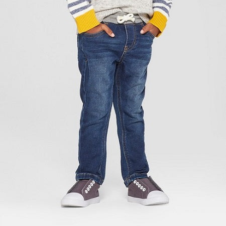 Cat & jack Toddler Boys' Pull-On Skinny Jeans