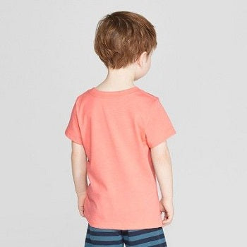 Cat & Jack Toddler Boys' Short Sleeve Pocket Henley Shirt
