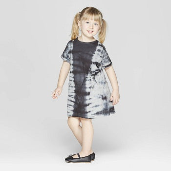 Art class Toddler Girls' Tie Dye Tunic Dress