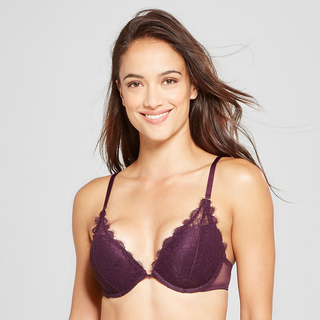 Gilligan & O'Malley Women's High Apex Push Up Bra