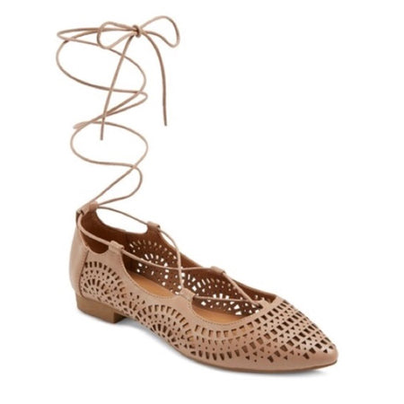 Mossimo Women's Laser Cut Pointed Toe Shoe