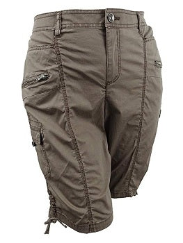 Style & Co Plus Size Zippered Cargo Shorts