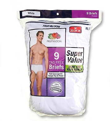 Fruit of the Loom Men's 9-Pack Briefs
