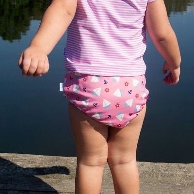 i play Baby Girls' Sailboat Pull-up Reusable Swim Diaper