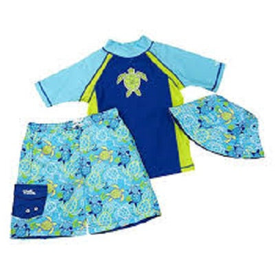 Uv Skinz Little Boys 3-piece Swim Set