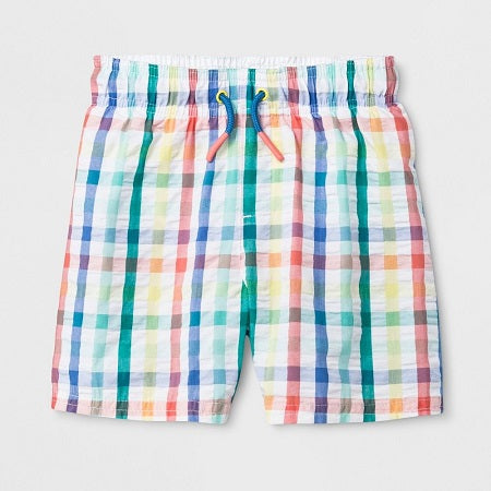 Cat & Jack Toddler Boys' Swim Trunks