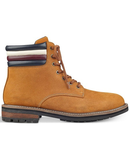 Tommy Hilfiger Men's Lace Up Lug Sole Ankle Boot