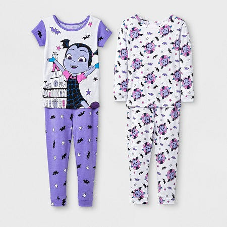 Vampirina Toddler Girls' 4 piece Pajama Set