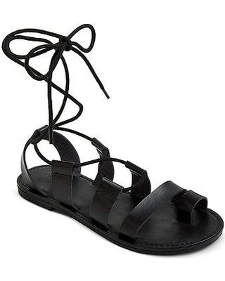 Women's Lilac Gladiator Sandals - Mossimo Supply Co. Black 8