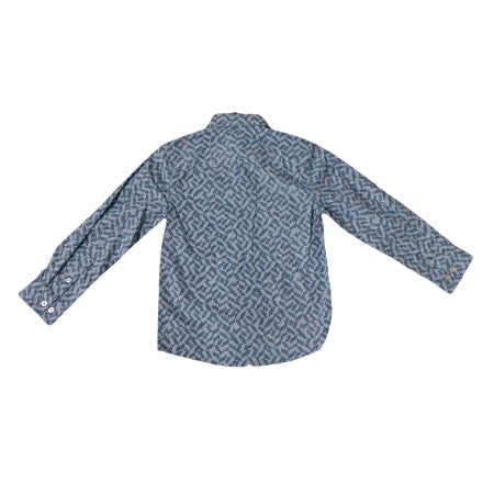 Basic Editions Boy's Woven Shirt Geometric