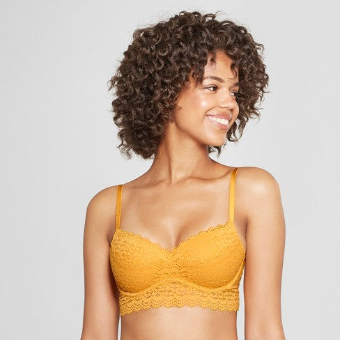 Xhilaration Women's Long Line Push-up Bra