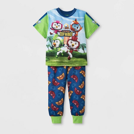 Nickelodeon Toddler Boys' Top Wing 2 piece Pajama Set