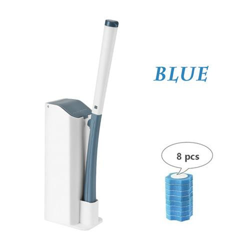 Replaceable Disposable Refill Heads Toilet Wand