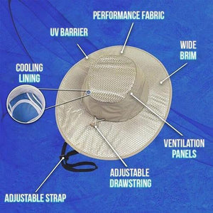 Sunstroke Prevented Cooling Hat