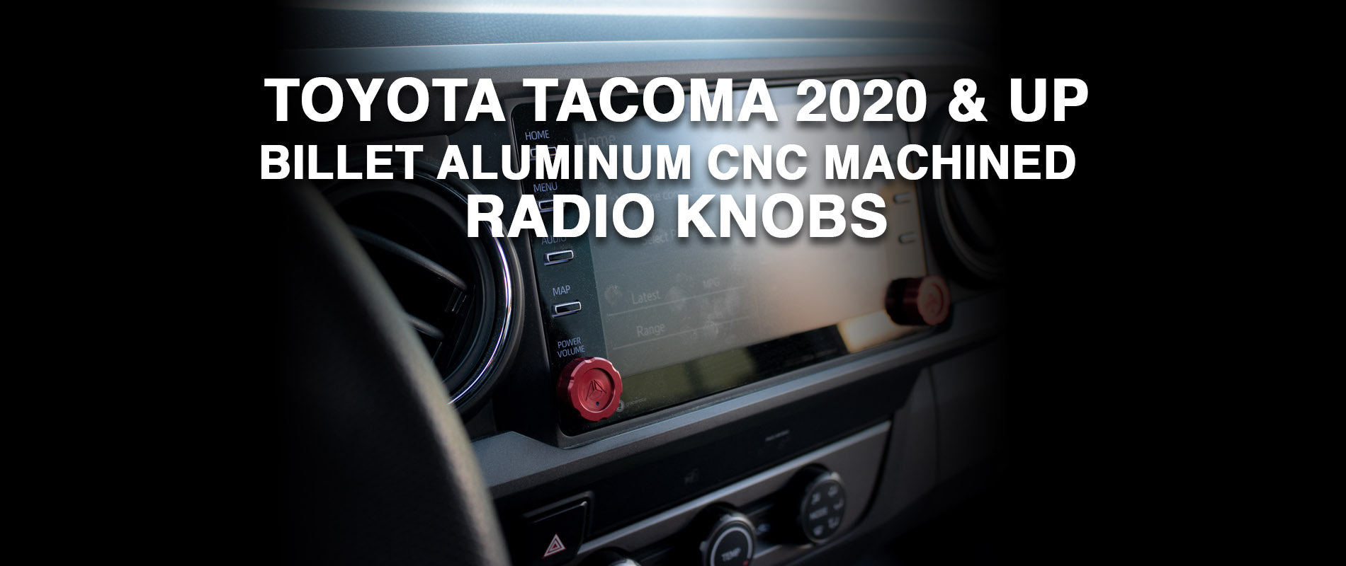03   tacoma radio knobs