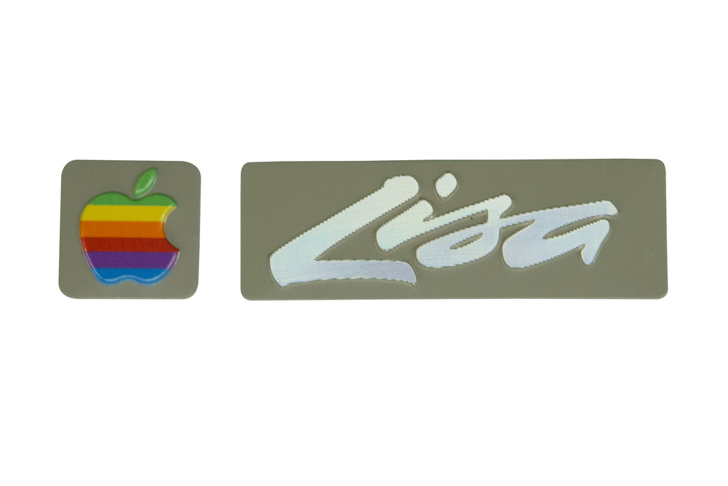 Refurbished Apple Lisa Badge Pair