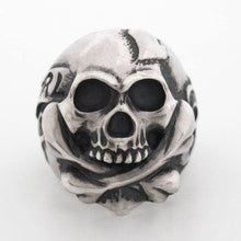 画像をギャラリービューアに読み込む, r.l.d(Rat Love Design) - Cross Bone Skull With Heart Ring - RAT RACE OFFICIAL STORE