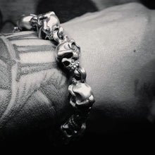画像をギャラリービューアに読み込む, RAT RACE - Two Face Skull Bracelet - RAT RACE OFFICIAL STORE
