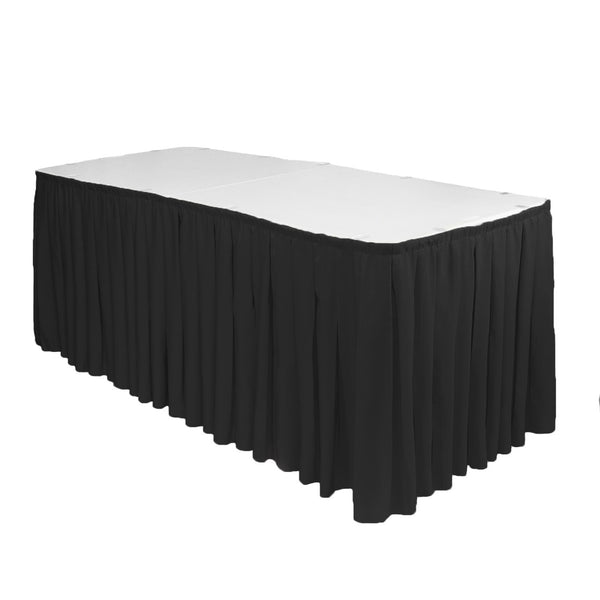 17' Boxed Table Skirting