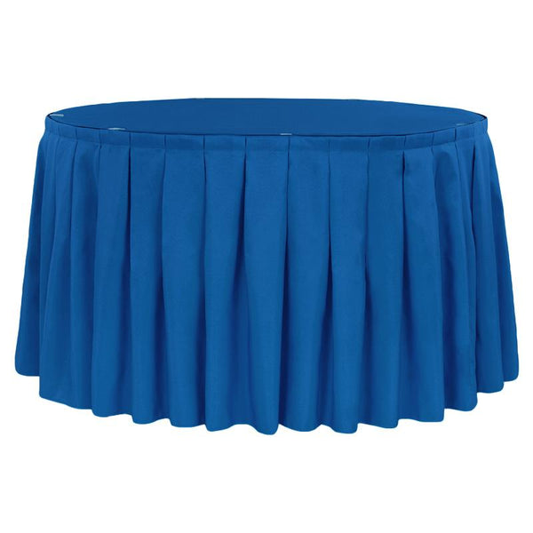 13' Boxed Table Skirting