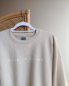 Made in Maine Crewneck (4 Color Options)
