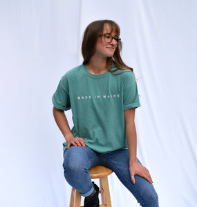 Model is wearing L in Seafoam