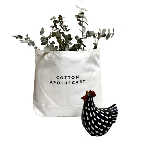 Cotton Apothecary - Cotton Tote Bag