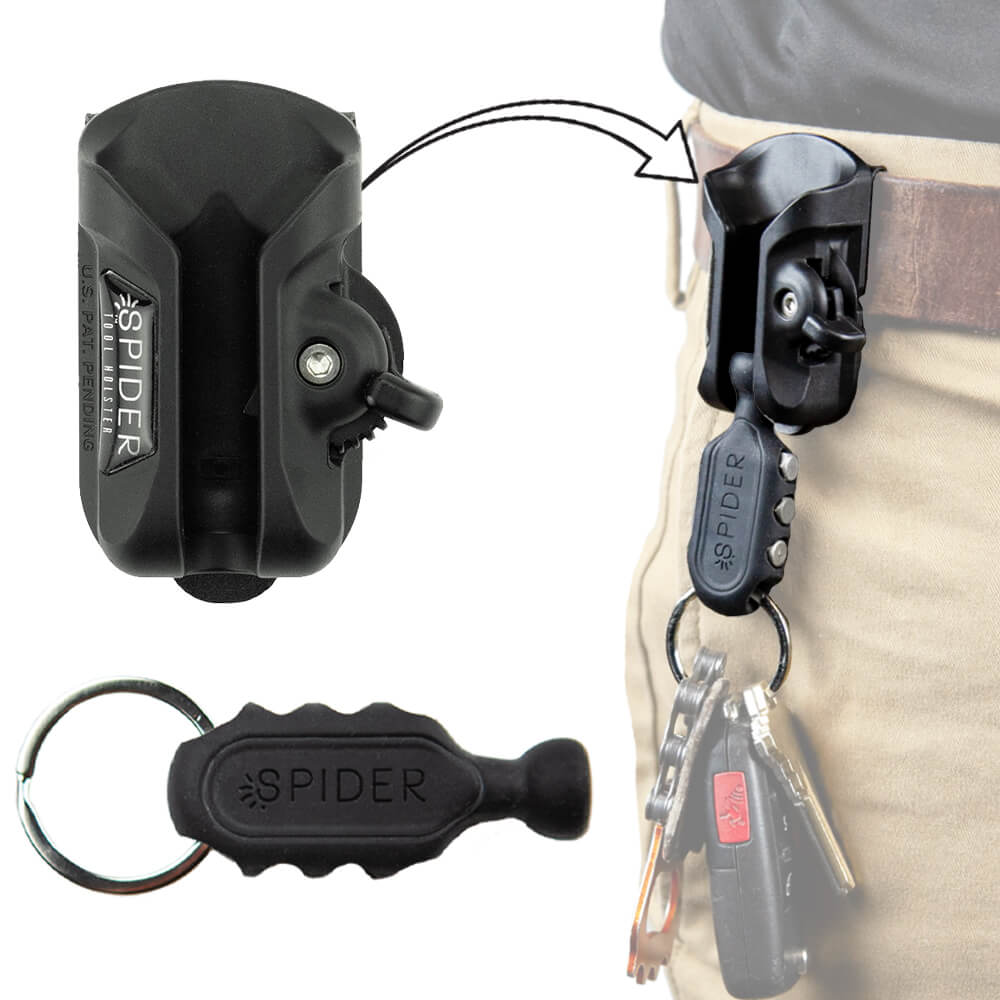 Key Fob + Tool Holster - Spider Tool Holster
