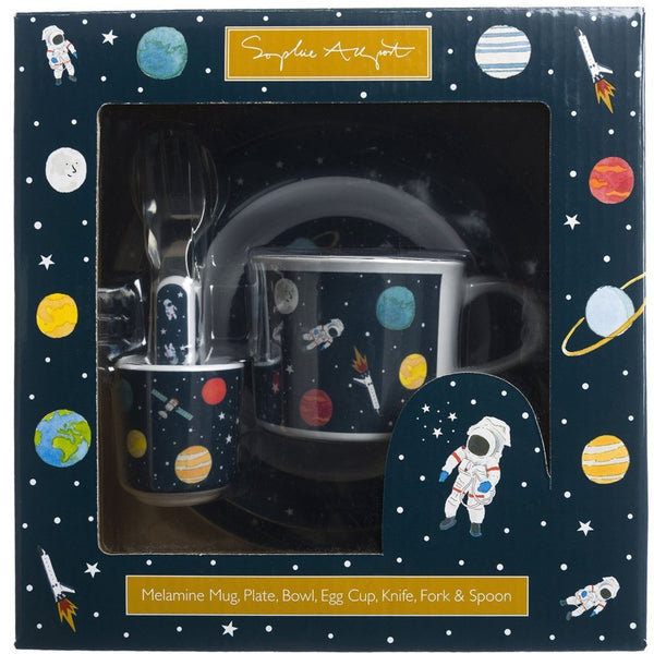 Space Childrens Melamine Set