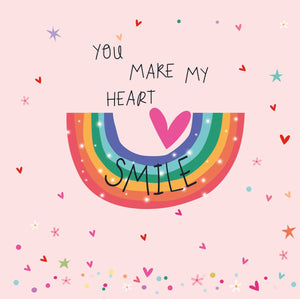 You Make My Heart Smile Card