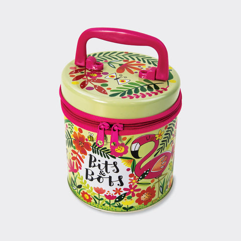 Bits & Bobs Tropical Zip Tin