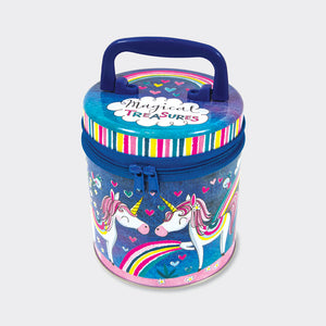 Magical Unicorn Zip Tin