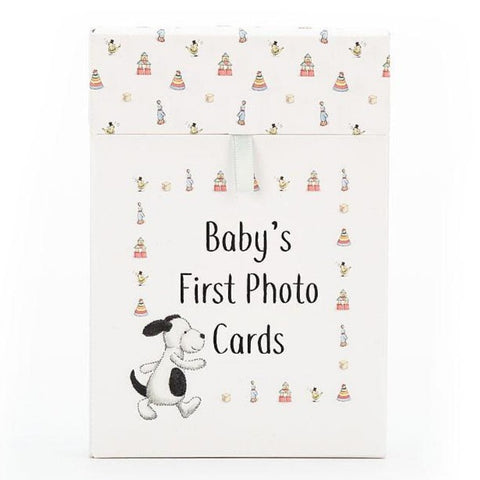 Baby's First Bashful Puppy Photo Cards