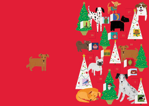 Precious Pooches Advent Calendar Card