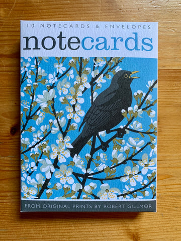Blackthorn Blackbird Notecards