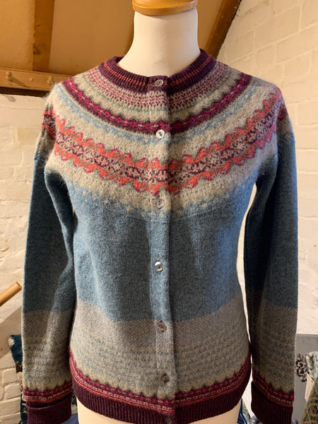 Alpine Cardigan Old Rose
