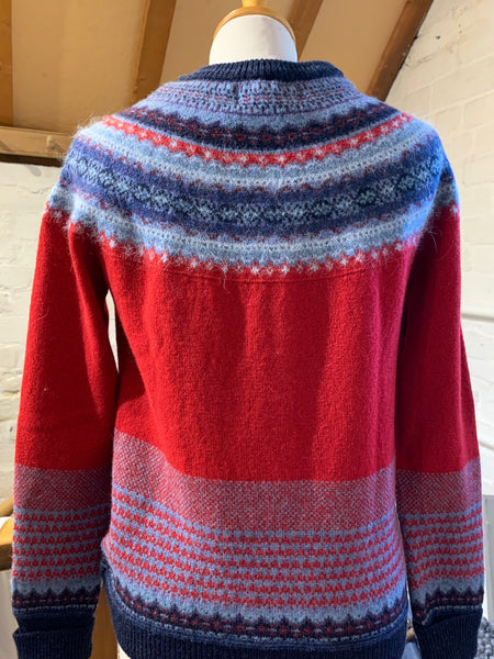 Alpine Cardigan Poppy