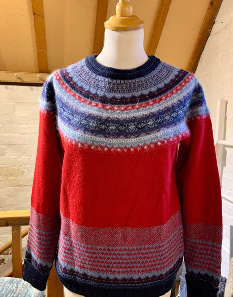 Alpine Sweater Poppy
